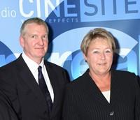 Cinesite's Antony Hunt with Quebec Premier Marois