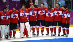 Copied from Media in Canada - Ice Hockey Gold Medal - Sweden v Canada