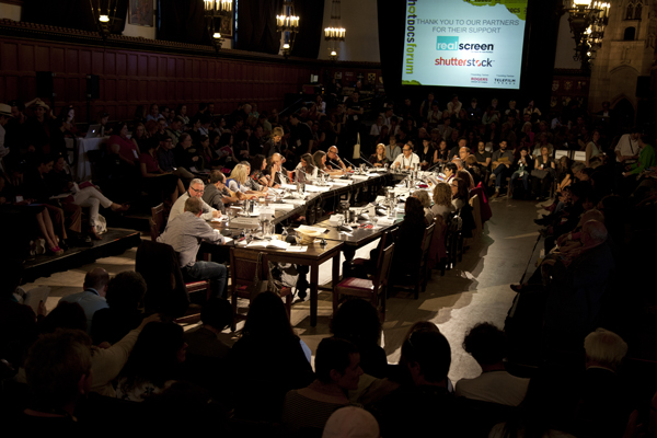 Copied from Realscreen - The 2013 Hot Docs Forum in Toronto. Photo courtesy of David Spowart/Hot Docs