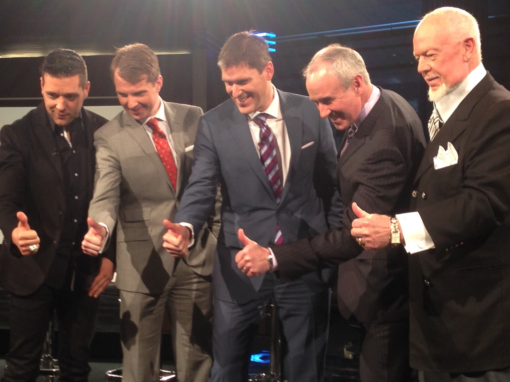 Copied from Media in Canada - hockey night in canada rogers nhl hosts