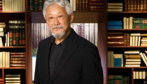 Copied from Realscreen - David Suzuki. (Photo: CBC)