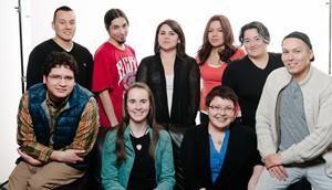 NSI New Voices graduates