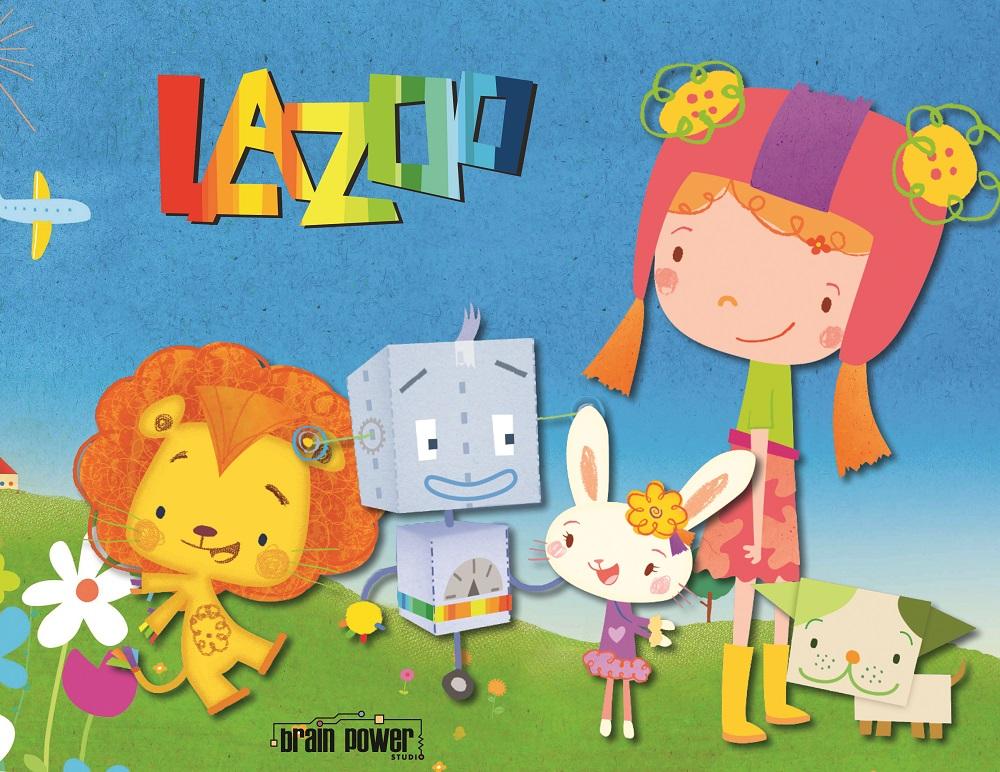 Copied from Kidscreen - Brain Power Studio - LAZOO