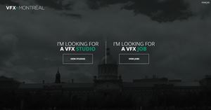 Montreal VFX website