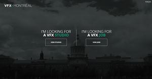Montreal VFX website