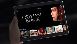 CraveTV interface