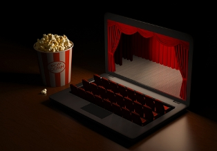MUST LINK shutterstock_SVOD_laptop_movies