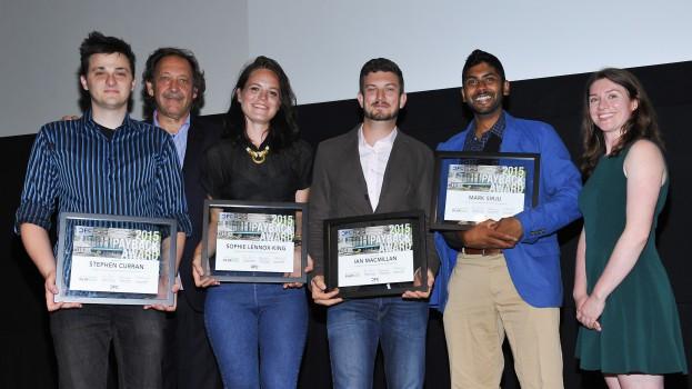 CFC Payback Award Winners, plus CEO Slawko Klymkiw and Julianna Cummins