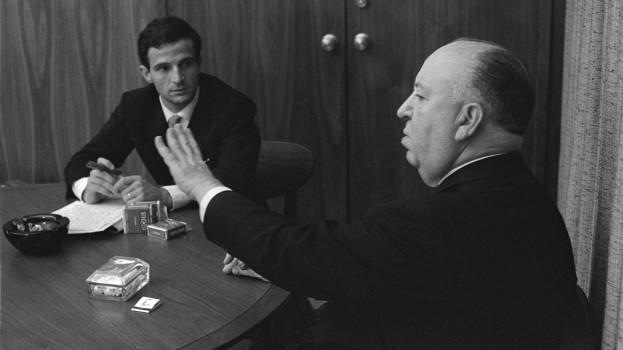 Francois Truffaut and Albert Hitchcock - Hitchcock Truffaut.2