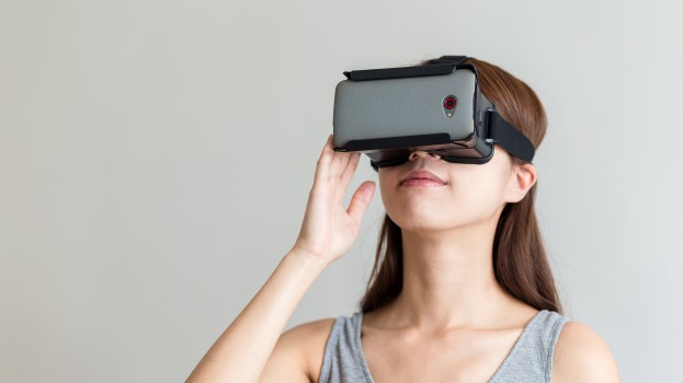 Virtual Reality headset from Shutterstock