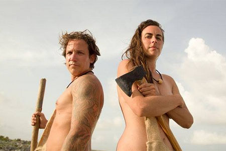Copied from Realscreen - Naked and Afraid