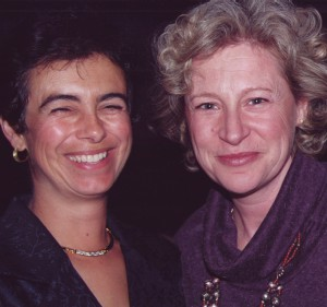 1999 - Academy founders Andra Sheffer (L) and Maria Topalovich