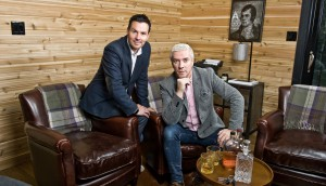 Peace Point and Blue Ant tailored Cabin Pressure to showcase design stars Colin and Justin in a more rustic environment