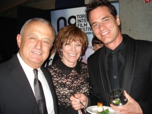 Victor Loewy, Martha Burns, Paul Gross TIFF 2008 at the Rosewater Club