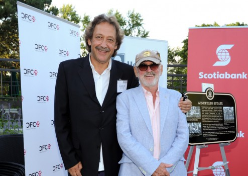 Slawko Klymkiw and Norman Jewison