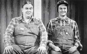 SCTV: Joe Flaherty and John Candy