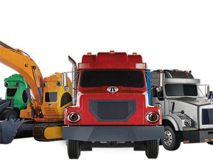 Copied from Kidscreen - Terrific Trucks