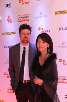Composer Jeff Toyne and his wife.