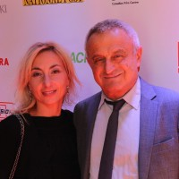 Alliance Atlantis's Victor Loewy and wife Giulia Filippelli Loewy