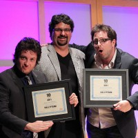 10 to Watch nominees, writers and producers Ryan and Jason Belleville