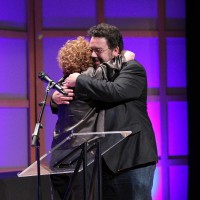 2011 Panavision Award recipient Adam Barken and writer/producer Barbara Samuels