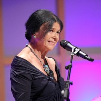 Alanis Obomsawin introduces 2011 Hall of Fame inductee Tantoo Cardinal