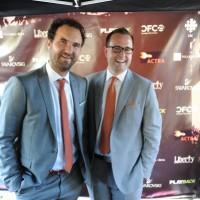 Marblemedia's Matt Hornburg (left) and Mark Bishiop (right)