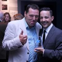 Mark De Angelis and guest
