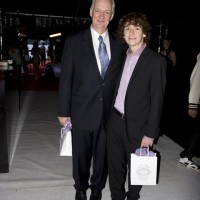 Hall of Fame host Colin Mochrie with son Luke. (photo: Linda Dawn Hammond)