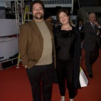 Ten to Watch honoree Adam Barken and guest Fiona McConville on the red carpet (photo: Linda Dawn Hammond)