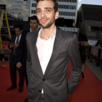 Audi Award winner Jay Baruchel on the red carpet  (photo: Linda Dawn Hammond)