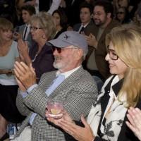 Director/presenter Norman Jewison and Lynne St. David (photo: Linda Dawn Hammond)