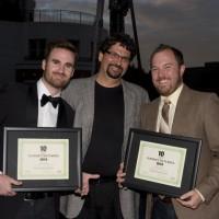 Cole Bastedo, Stewart Aziz and Matt Huether (photo: Linda Dawn Hammond)