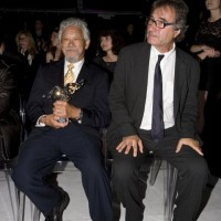 2010 Hall of Fame inductee David Suzuki and his presenter Michael Allder (photo: Linda Dawn Hammond)