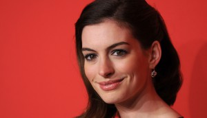 Anne Hathaway from Shutterstock