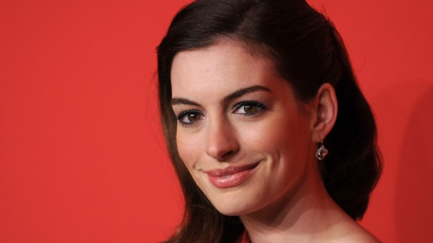 Anne Hathaway from Shutterstock