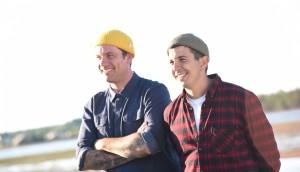 Chuck Hughes and Danny Smiles Photo 1