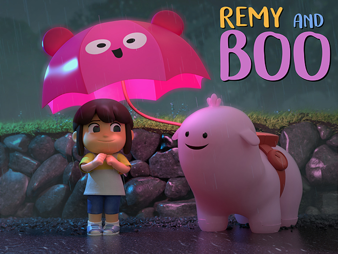 Copied from Kidscreen - Remy and Boo
