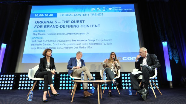 MIPCOM 2017 - CONFERENCES - ORIGINALS - THE QUEST FOR BRAND-DEFINIG CONTENT