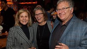 Barb Williams (Corus Entertainment), Sandra Cunningham (Strada Films), Ira Levy (Breakthrough Entertainment)