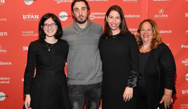 From left to right: Mor Loushy, Daniel Sivan, Hilla Medalia, Ina Fichman