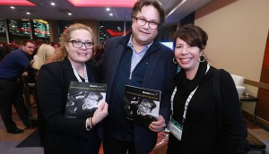 L to R: Deb Day from Innovate By Day, Jesse Wente from the Indigenous Screen Office and Tracey Deer from Mohawk Princess Pictures at Prime Time in Ottawa, ON.