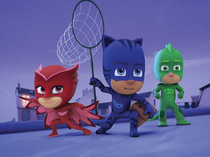 Copied from Kidscreen - pjmasks
