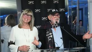 Christina Jennings with Norman Jewison