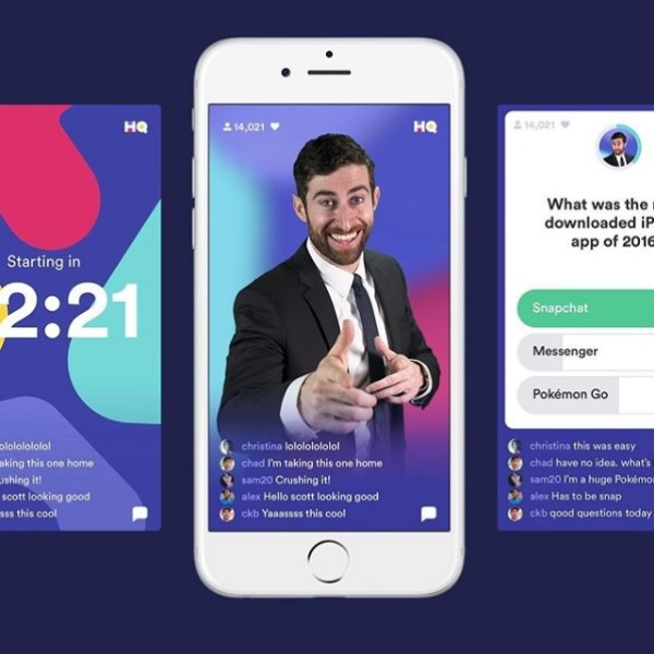 HQ Trivia FROM HQ INSTAGRAM PAGE