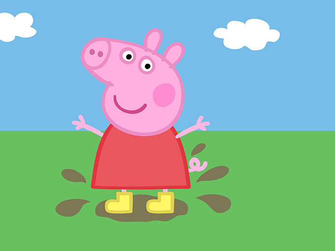Copied from Kidscreen - peppapig