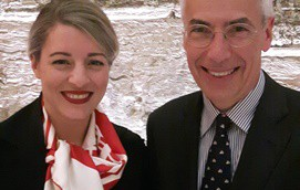 Melanie Joly and Claude Joli-Coeur