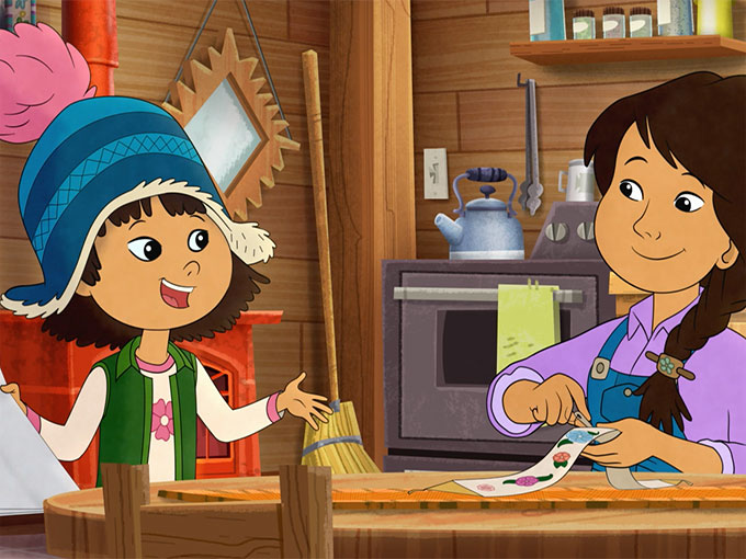 Copied from Kidscreen - Mollyofdenali