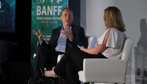 Robert Greenblatt at the Banff World Media Festival 2018