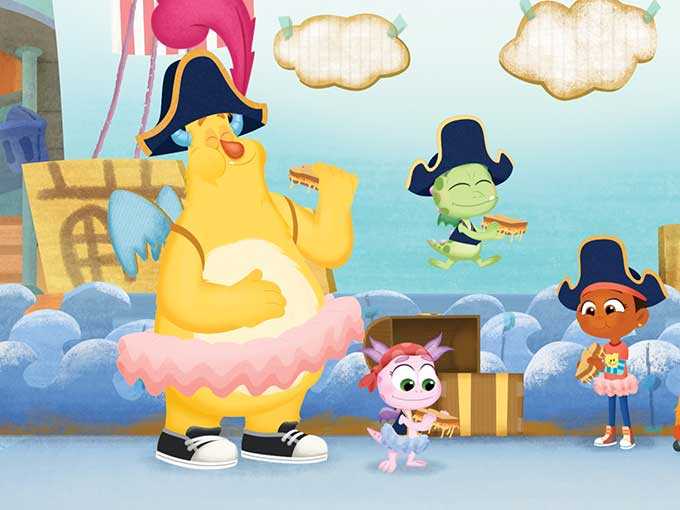 Copied from Kidscreen - esme&roy